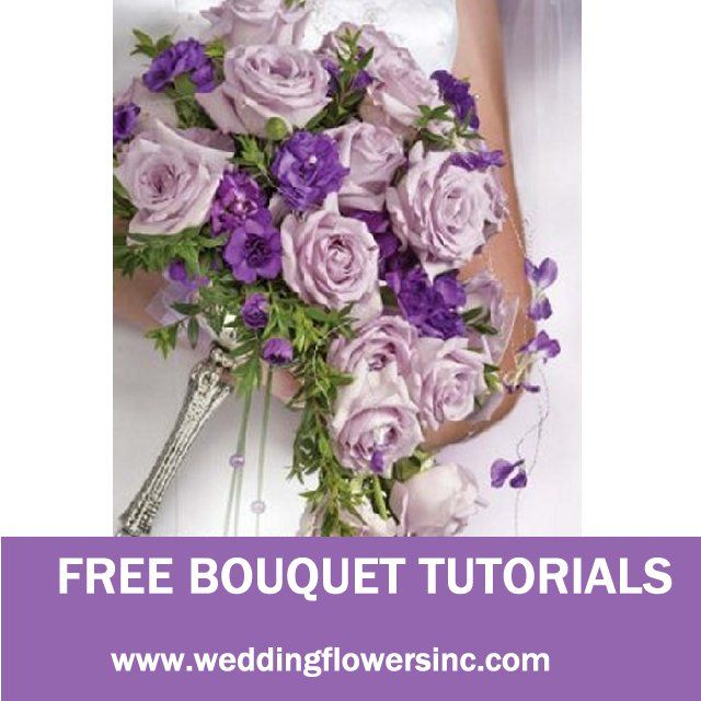 141 best How to Make a Wedding Bouquet images on Pinterest   Bridal ...
