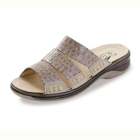 Sandalias elásticas Gela Beige