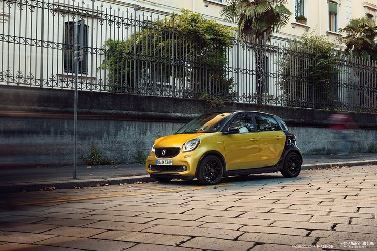 Smart forfour in Milan