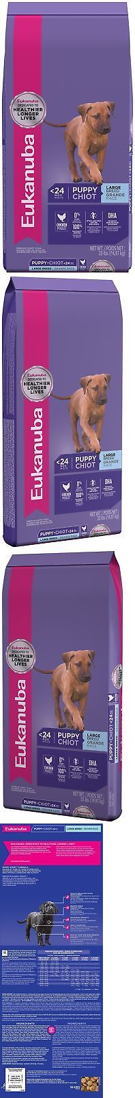 Dog Food 66780: Eukanuba Puppy Dry Dog Food Standard Packaging Chicken - Large Breed 33 Lbs. -> BUY IT NOW ONLY: $46.88 on eBay!