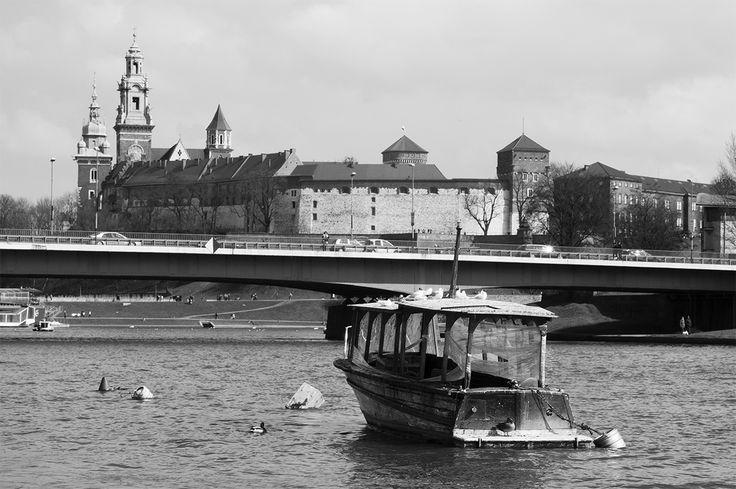 Old boat on Wisla #Krakow #Wawel