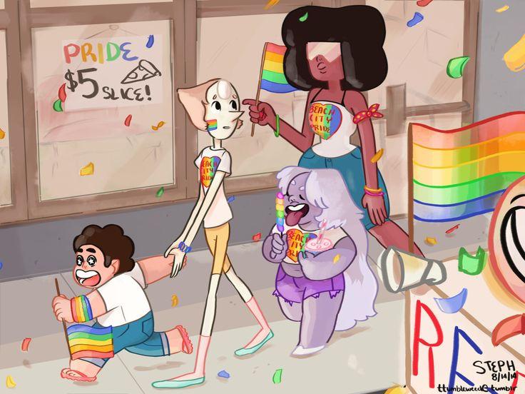ttumbleweed:Beach City Pride 2k14!! I'm really proud of this one, I hope you guys like it!