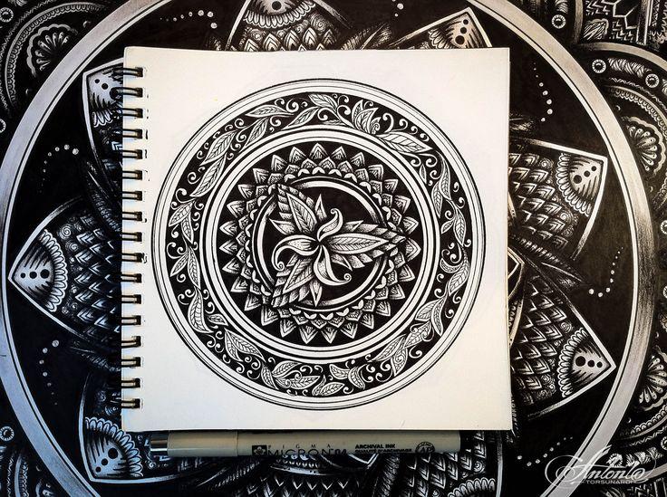 Mandala ... Drawing meditation...