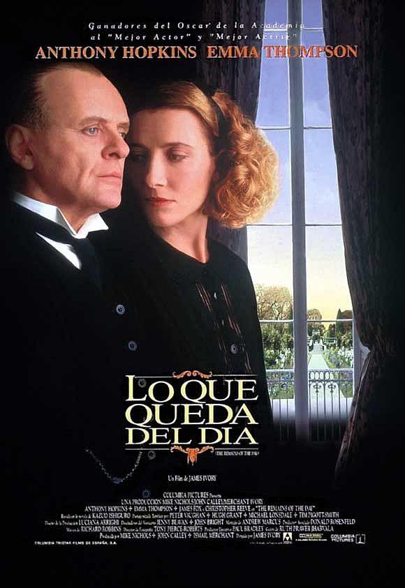 Lo que queda del día (1993) Reino Unido. Dir: James Ivory. Drama - DVD CINE 89