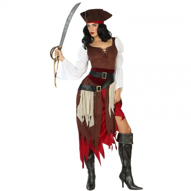 Déguisement Pirate des Caraïbes pour femme #costumespouradultes #nouveauté2017