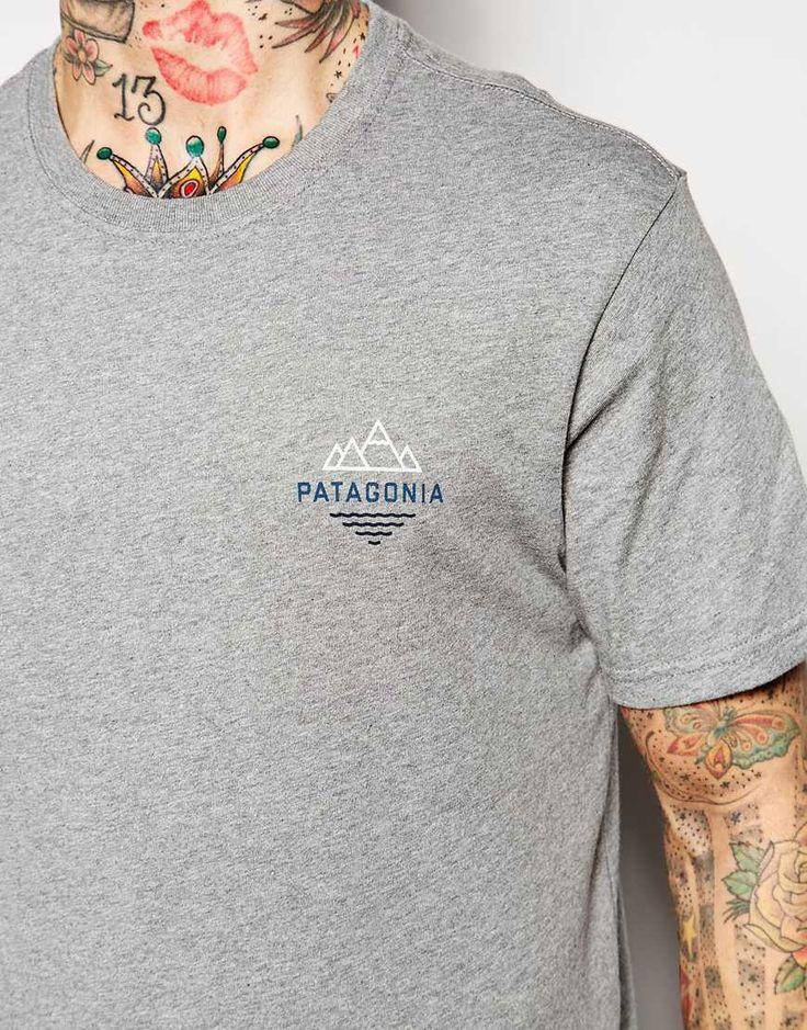 Imagen 3 de Camiseta de corte estándar con logo de pico de montaña de Patagonia