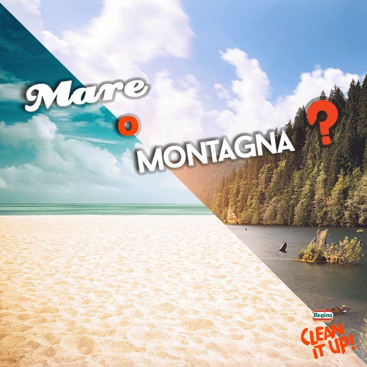 Avete scelto dove andare quest'estate? Un #Buonlunedì a chi parte e a chi resta ;)