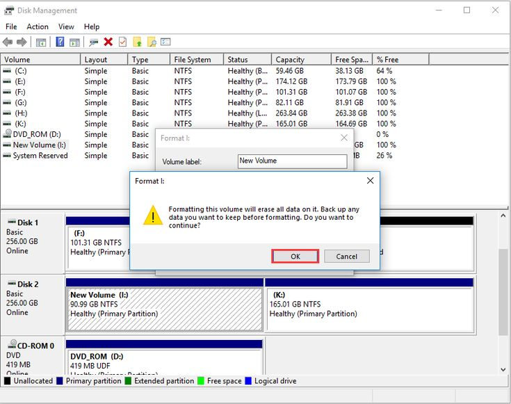 how to initialize ssd windows 10