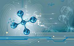 free molecules 3d abstract wallpaper desktop background image