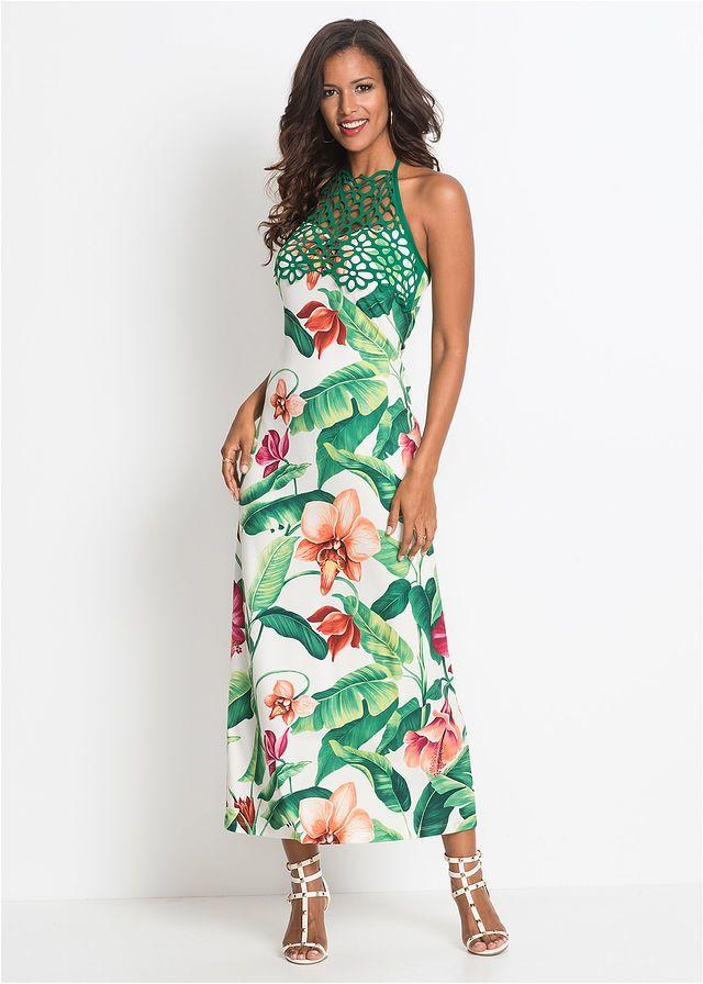 Sukienka W Kwiaty Modna Letnia Sukienka 149 99 Zl Bonprix Maxi Dress Venus Dresses Lace Maxi Dress