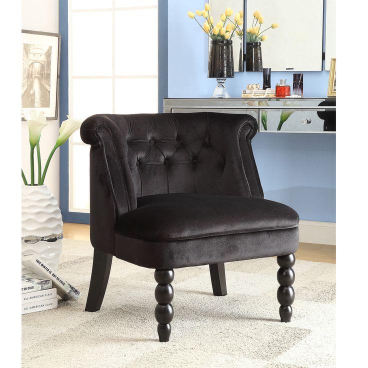 Best Flax Victorian Style Contemporary Black Velvet Fabric 640 x 480