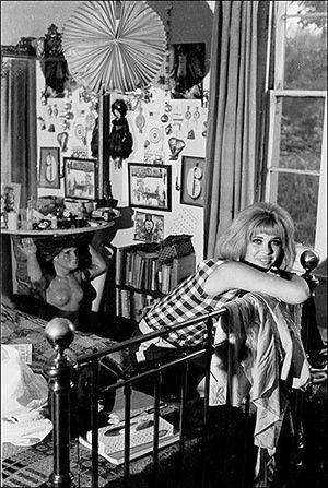 Pauline Boty: Boty at home in 1963