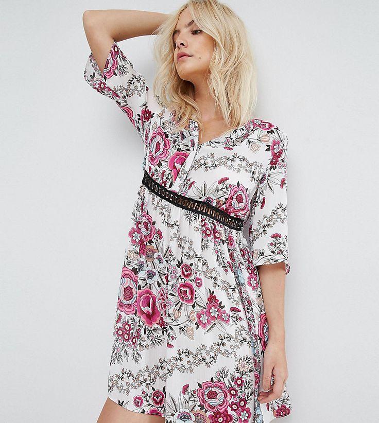 River Island - Petite - Hängerkleid mit Blumenmuster - Mehrfarbig Jetzt bestellen unter: https://mode.ladendirekt.de/damen/bekleidung/kleider/sonstige-kleider/?uid=6572c4de-66ae-5603-8a49-54dfb687e44d&utm_source=pinterest&utm_medium=pin&utm_campaign=boards #sale #sonstigekleider #kleider #female #markenkleider #bekleidung