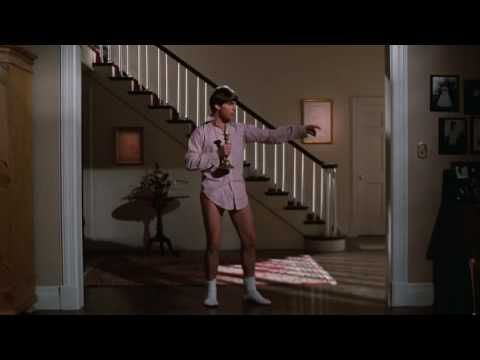 Risky Business Party - everyone dresses in a button up shirt, boxers, tall white socks, and Ray Ban sunglasses.