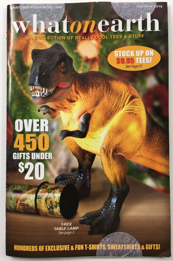13 Free Gift Catalogs That Come In the Mail: What On Earth Gift Catalog