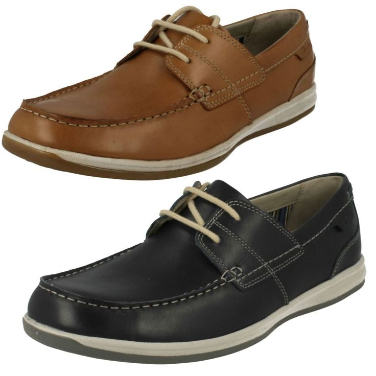 United Footwear - Men's Clarks Moccasin Casual Lace Up Shoes Fallston Style, �49.99 (http://united-footwear.co.uk/mens-clarks-moccasin-casual-lace-up-shoes-fallston-style/)