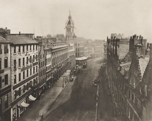 Thomas Annan. Trongate from Iron Steeple. 1868
