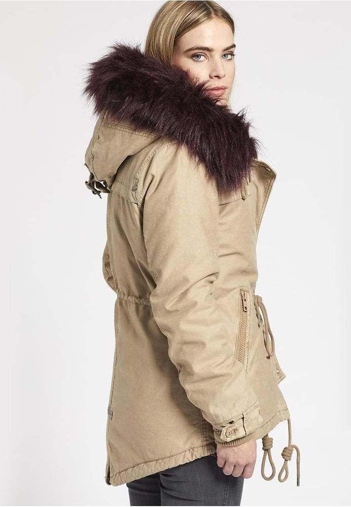 info for e2344 5582f Khujo #Damen #Winterjacke #Parka #Angelina Kapuze beige Neu ...