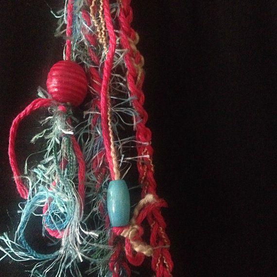 Crochet necklace Summer Dream Handmade crochet by PixiesFairies