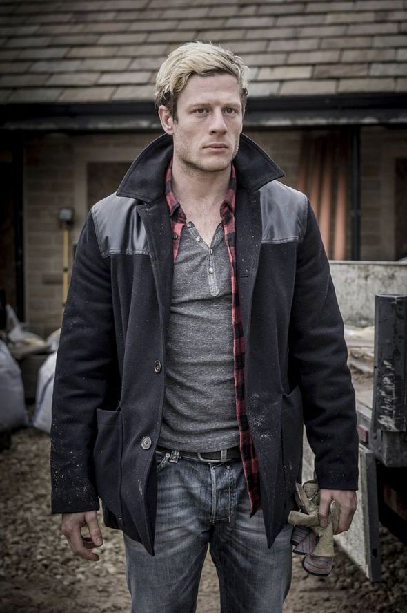 James Norton as ex-con kidnapper Tommy Lee Royce in the 2014 BBC crime drama Happy Valley.