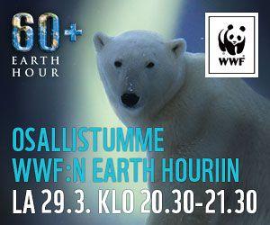 Earth Hour lauantaina 29.3.! WERA pitää huomenna 28.3. klo 18 tiedotustilaisuuden Muut jutut -foorumilla.