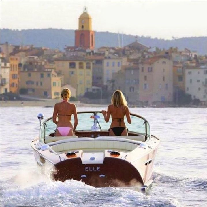pinterest.com/fra411 #classic #motorboat - nice asses at saint-tropez