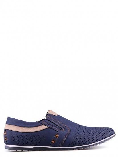 Ανδρικά χαμηλά παπούτσια TENDENZ - μπλε