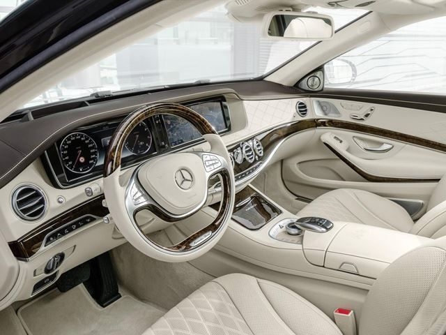 2016 Mercedes S-Class interior