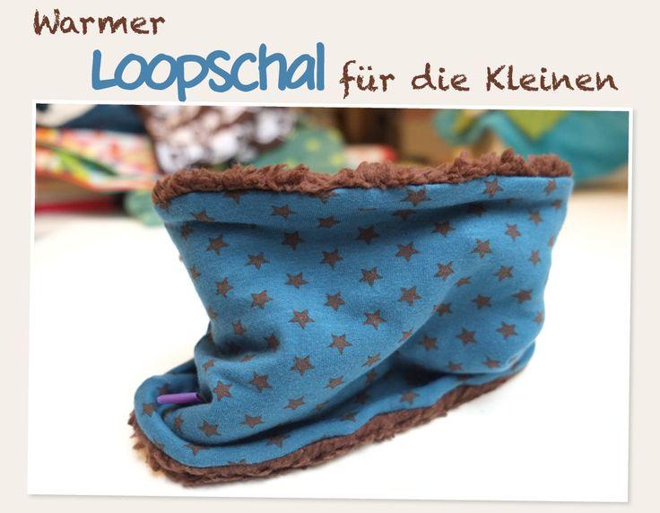 Kuscheliger Loopschal für Kids