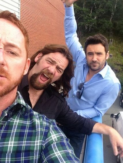 Republic of Doyle! Scott Grimes, Allan Doyle, Allan Hawco! Looking forward to season 5!