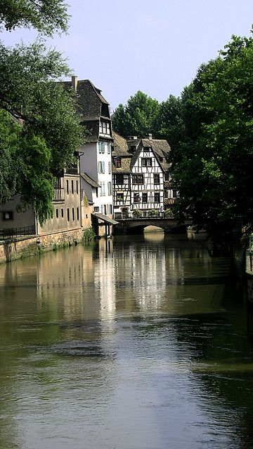 Strasbourg, France...only about a forty-five minute drive, from where I lived in Germany.