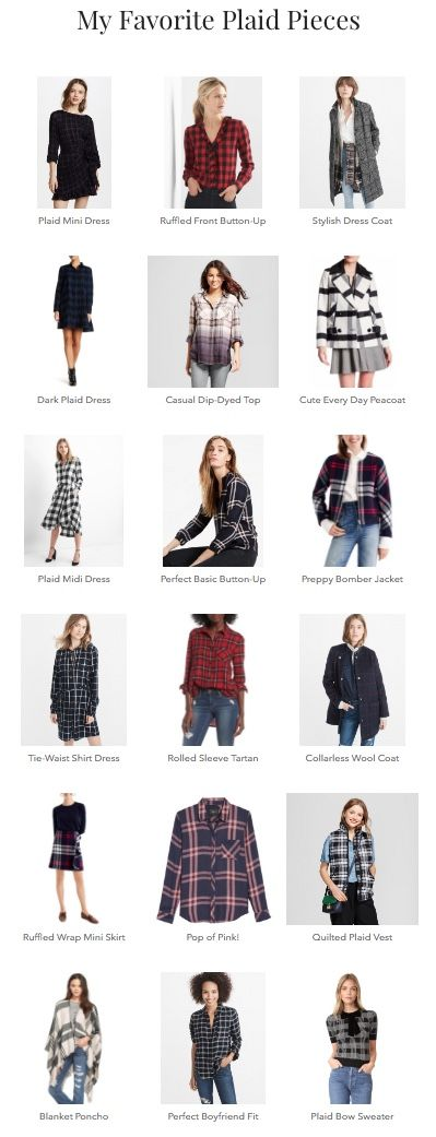 All the best plaid pieces for the season! Fall Fashion | Winter Fashion | Outfit Inspo | Plaid | How to Wear Plaid | Outfit Ideas | Fashion Post