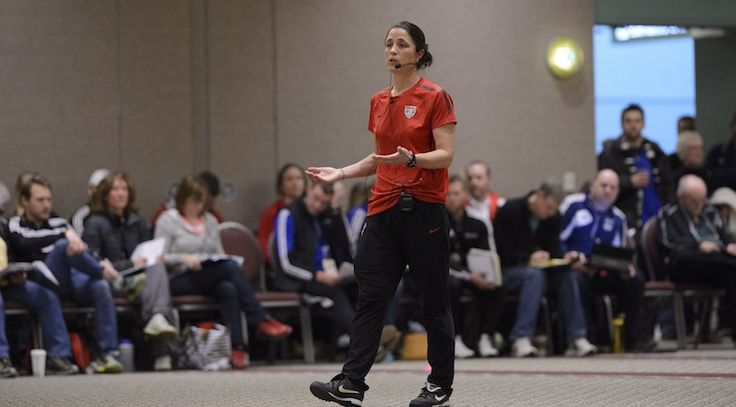 April Kater - Head Development Coach with U.S. Soccer (managing the Scouting Network) checks in with Carrie Taylor. Get the scoop on the National Training