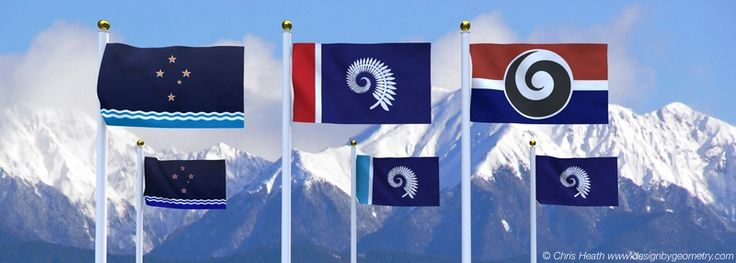 New Zealand Flag Design Submissions - July 2015. Copyright Christopher Heath. #nzflag #flags #NZ #southerncross #koru #silverfern #flag