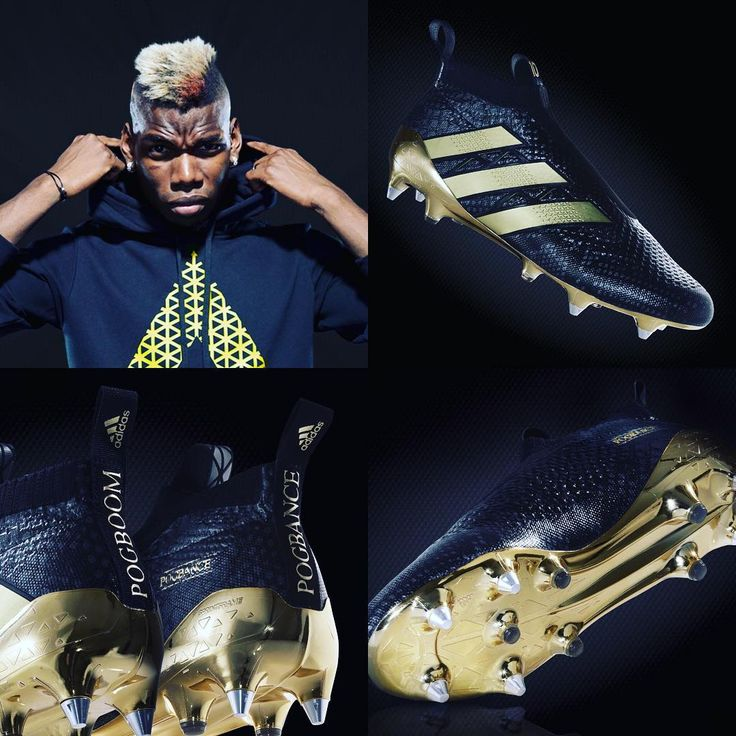 Paul Pogba joins adidas soccer with a bang! Exclusively for the French star.