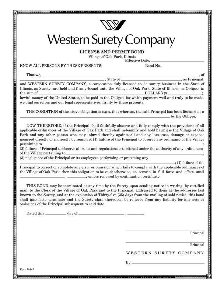 Surety Bond Claim Letter Sample