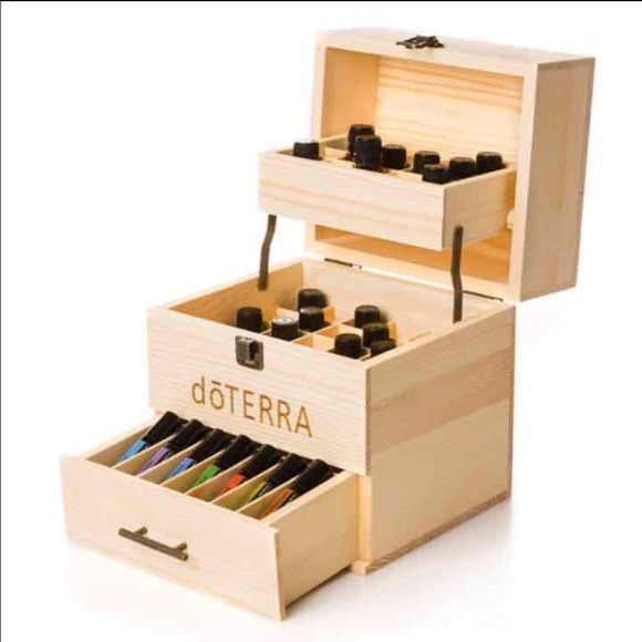 Doterra Multi Tray Wooden Storage This New Limited Edition