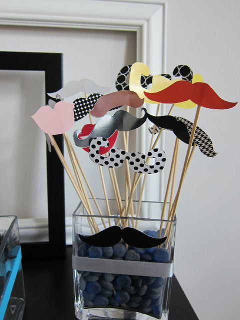 """Photo 8 of 29: mustache party / Birthday """"We MUSTACHE You To Party"""" 