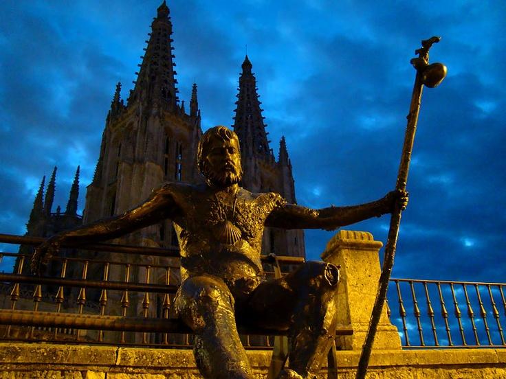 The Camino de Santiago Pilgrimage: Burgos Spain
