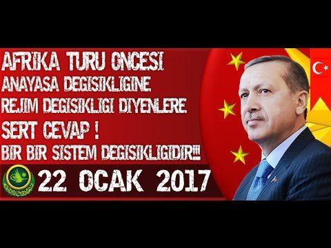Cumhurbaşkanı Recep Tayyip Erdoğan Afrika Turu Öncesinde Önemli Açıklama...