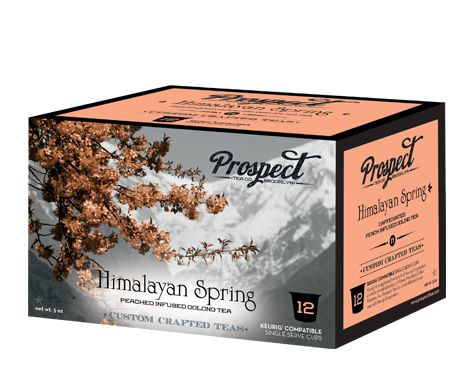 Prospect Tea Himalayan Spring K-Cup Review #brooklynbeanroastery