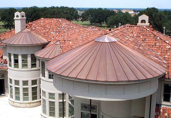 Residential Project Gallery - Central Texas Metal Roofing  Supply Co., Inc. on site! and tapered!
