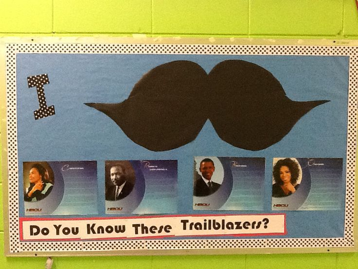 "I ""Must ask"" Do you know these trailblazer? MLK and Black History Month Third Grade Hall  These biography pictures are from an old calendar that my students use in centers to create timelines."