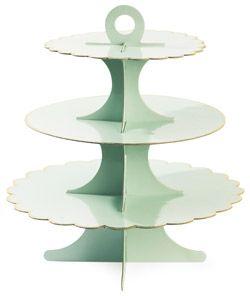 plateau de pr sentation lilly pour petits g teaux bianca. Black Bedroom Furniture Sets. Home Design Ideas
