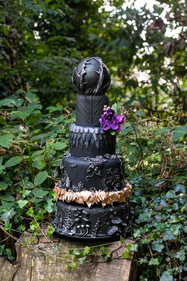 Maleficent - Cake by Kathryn
