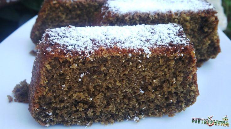 Kávés barna süti  2 tojás 70 g zabpehelyliszt 50 g zabkorpa 50 g búzacsíra 1 ek…