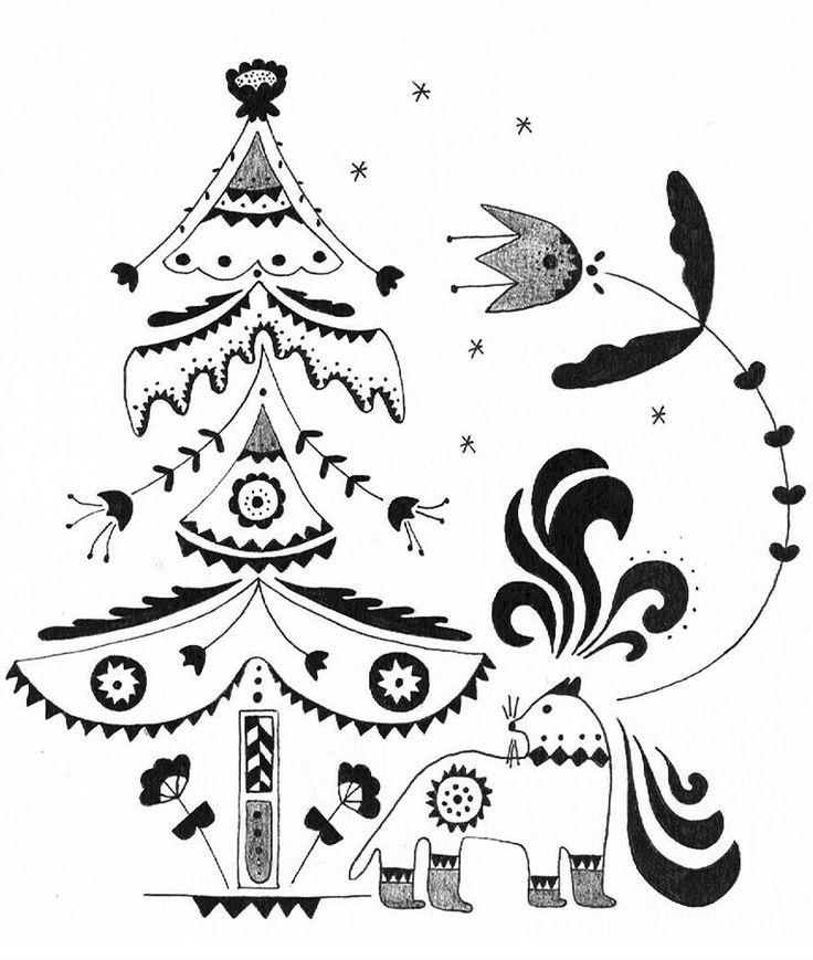 http://fabricandcolor.com/ Christmas Tree