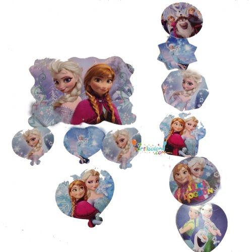 Frozen Dekoratif Asma Süs Elsa Dekoratif Asma Süs Ürün ÖzellikleriÜrün Paketinde 2 Adet Karlar Ülkesi Asma Süs bulunur.Karton Dekoratif Asma Süsler renkli baskı ve kalitelidir.Tavana asmak suretiyle kullanılmaktadır.Frozen temalı asma süsler 5'li ve 4'lü asma süs olmak üzere 2 çeşit halinde gönderili