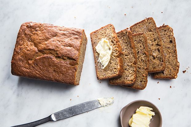 Find the recipe for Our Favorite Banana Bread and other banana recipes at Epicurious.com