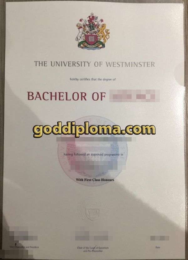 First Class Honours Fascinating Where To Buy The University Of Westminster Fake Diploma Buy The .